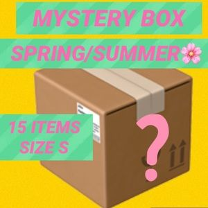 🌸SPRING/SUMMER MYSTERY BOX 15 ITEMS SIZE SMALL🌸